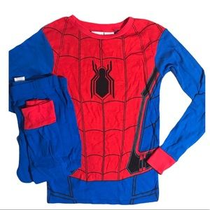 Marvel Spider-Man Costume PJ (2 piece) Set Size 8